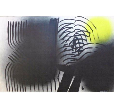 Litografía Hartung - Farandole F