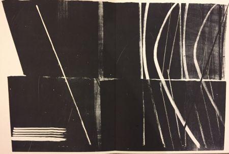 Litografía Hartung - Farandole N