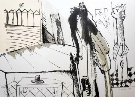 Serigrafía Llona - Federico Garcia Lorca