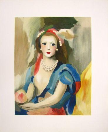 Litografía Laurencin - Female Bust