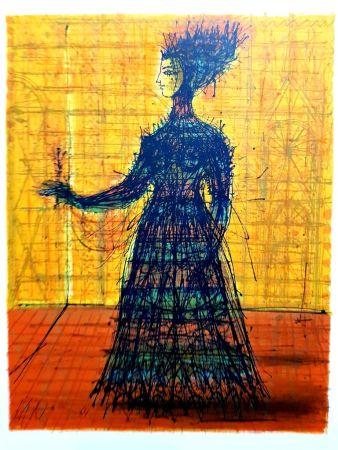 Litografía Carzou - Femme