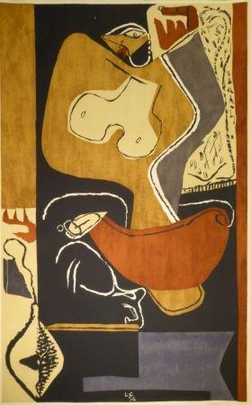 Litografía Le Corbusier - Femme à la main levée