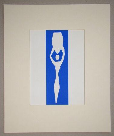 Litografía Matisse (After) - Femme à l'amphore - 1952
