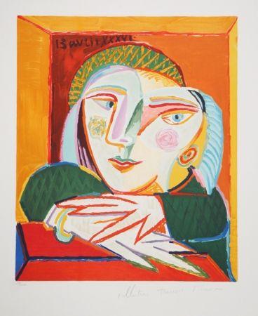 Litografía Picasso - Femme Accoudee A Sa Fenetre