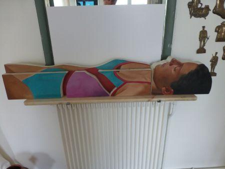 Sin Técnico Maddox - Femme allongée en maillot une pièce