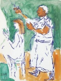 Sin Técnico Mualla - Femme chez le coiffeur