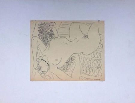Sin Técnico Matisse - Femme Nue Allongée