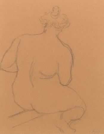 Sin Técnico Maillol - Femme nue de dos, accroupie