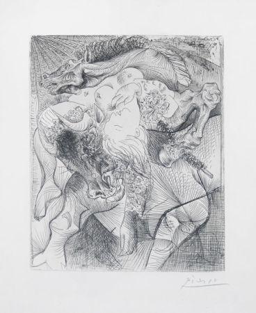 Grabado Picasso - Femme Torero Ii