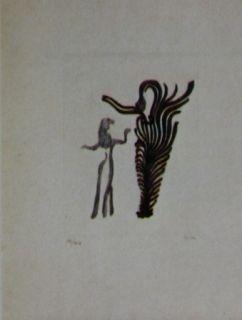Aguafuerte Y Aguatinta Fenosa - Femmes arbres