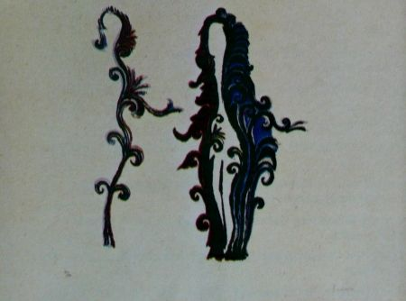 Litografía Fenosa - Femmes fleurs