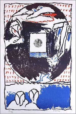 Litografía Alechinsky - Fenêtre