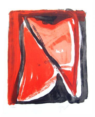 Litografía Van Velde - Fenêtre
