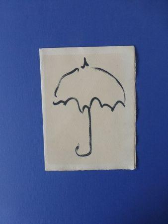 Libro Ilustrado Alechinsky - Fermer enfin son parapluie