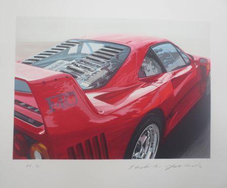 Litografía Yoshida - Ferrari 250 GT0 64