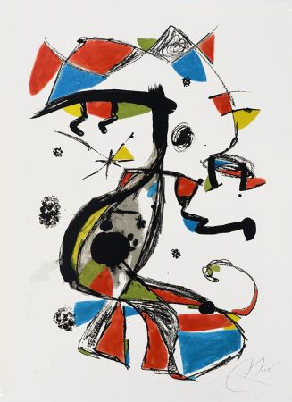 Litografía Miró - Festa Major