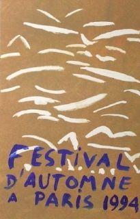 Litografía Aillaud - Festival automne