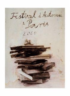 Litografía Kiefer - Festival automne 2000