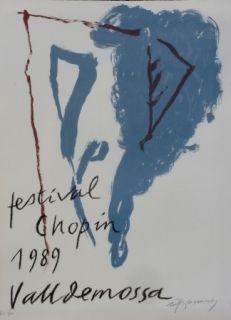 Litografía Ràfols Casamada - FESTIVAL CHOPIN
