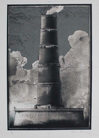 Litografía Paul - Festungsturm