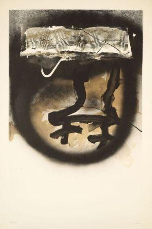 Litografía Tàpies - FIAC 1983