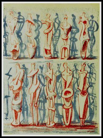 Litografía Moore - FIGUES & SHADOWS