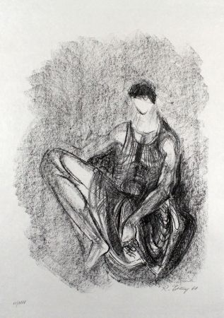 Litografía Belling - Figur