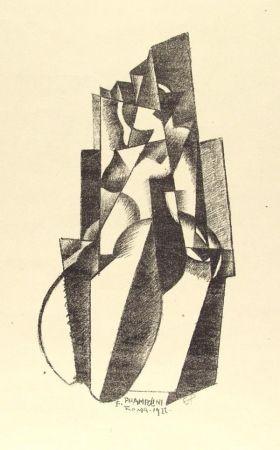 Litografía Prampolini - Figur in Bewegung
