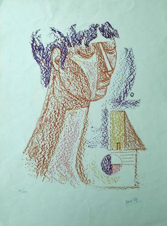 Litografía Tozzi - Figura