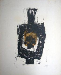 Litografía Ubac - Figure