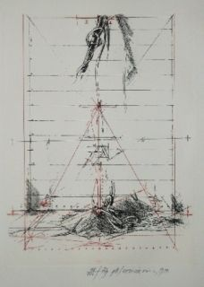 Grabado Velickovic - Figure B