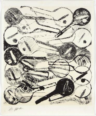 Litografía Arman - Filtres À Air, 1969
