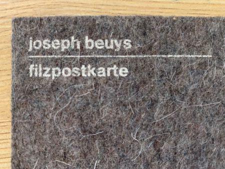 Serigrafía Beuys - Filzpostkarte