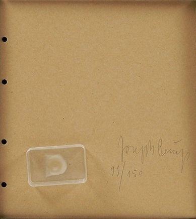 Múltiple Beuys - Fingemagelabdruck aus geharteter butter