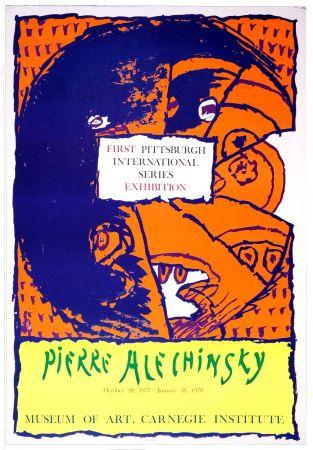 Cartel Alechinsky - First Pittsburg International Series Exhibition, 1977