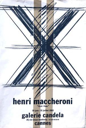Litografía Maccheroni - First Time  Galerie Candela Cannes