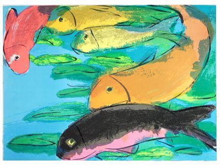 Litografía Ting - Fish