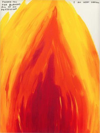 Serigrafía Shrigley - Flame