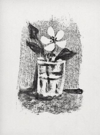 Litografía Picasso - Fleurs Dans Un Verre #6
