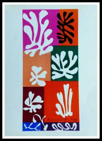 Litografía Matisse (After) - FLEURS DE NEIGNE