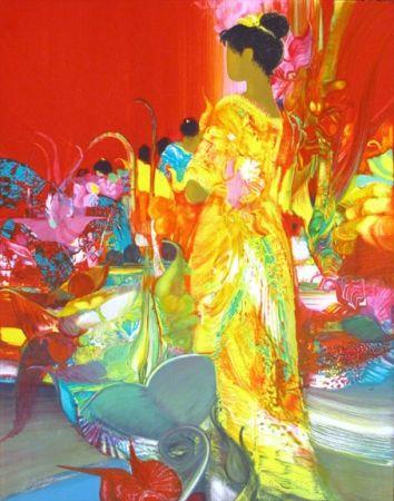 Litografía Lenalbaut - Fleurs Precieuses