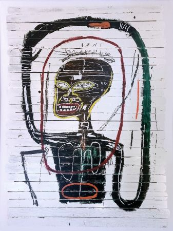 Serigrafía Basquiat - FLEXIBLE