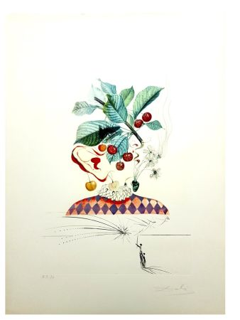 Litografía Dali - Flordali - Cerises
