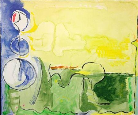 Serigrafía Frankenthaler - Flotilla