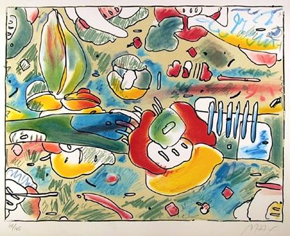 Litografía Max - Flower Abstract
