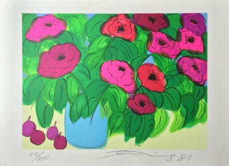 Litografía Ting - Flowers