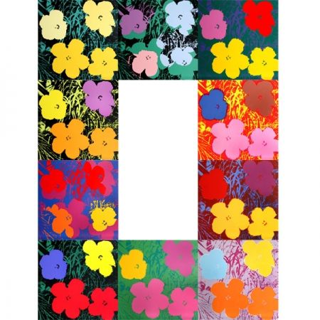 Serigrafía Warhol (After) - Flowers - Portfolio