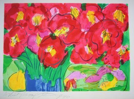 Litografía Ting - Flowers 2