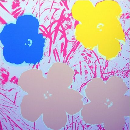 Serigrafía Warhol - Flowers (By Sunday B. Morning)