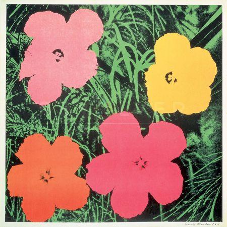 Serigrafía Warhol - Flowers (Fs Ii.6)